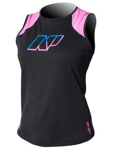 NP Racerback Tank Ladies Black
