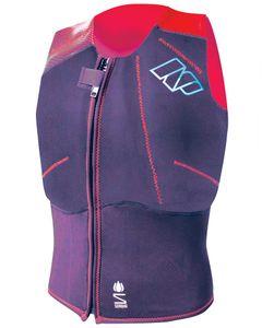 Np Ladies Impact Front Zip Purple / Red