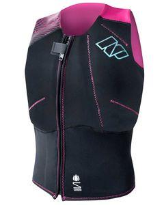 Np Ladies Impact Front Zip Black / Pink