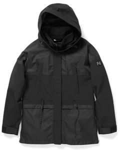 Wms Oversized Parka - Black